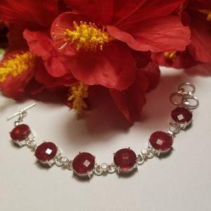 Pretty Garnet bracelet
